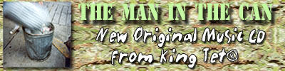 Order The Man in the Can CD now!